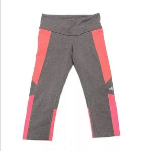 Alo Yoga Crop Mesh Panel Leggings